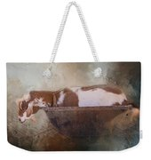 Goat In A Bucket Weekender Tote Bag