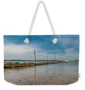 Goat Island Shore Gorgeous Happy Day Weekender Tote Bag