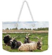 Goats  Weekender Tote Bag by Anjo Ten Kate