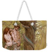 Gods Curse, Adam And Eve Weekender Tote Bag