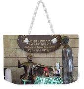Gogarty And Joyce Statues One Weekender Tote Bag