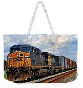 Going On A Train Ride Weekender Tote Bag