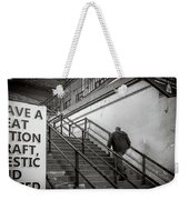 Going Up Weekender Tote Bag