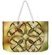 Gold Design 24 Weekender Tote Bag