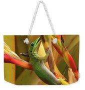 Gold Dust Gecko  Weekender Tote Bag