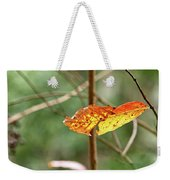 Gold Leaves And Branches Weekender Tote Bag