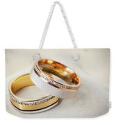 Gold Wedding Ring  Weekender Tote Bag