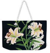 Golden-banded Lily - Digital Remastered Edition Weekender Tote Bag