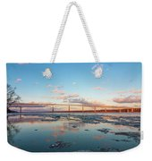 Golden Bridge Weekender Tote Bag