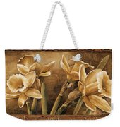 Golden Daffodils I    Weekender Tote Bag
