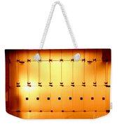 Golden Glass Doors Weekender Tote Bag
