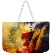 Golden Gloom Weekender Tote Bag