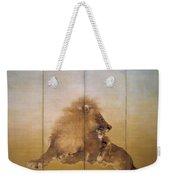 Golden Lion - Original Color Edition Weekender Tote Bag