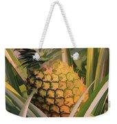 Golden Pineapple Weekender Tote Bag