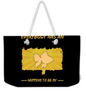 Goldfish Addiction Funny Farmer Animal Lover Weekender Tote Bag