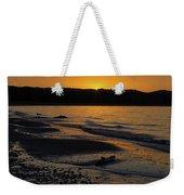 Good Harbor Bay Sunset Weekender Tote Bag