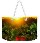 Good Morning Strawberries Weekender Tote Bag