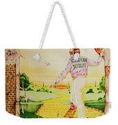 Goodbye Yellow Brick Road Weekender Tote Bag