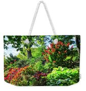 Gorgeous Gardens At Cornell University - Ithaca, New York Weekender Tote Bag
