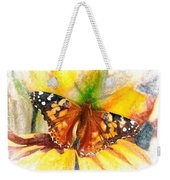 Gorgeous Painted Lady Butterfly Weekender Tote Bag by Don Northup