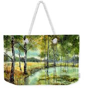 Gorgeous Water Lilies Bloom Weekender Tote Bag