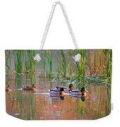 Got My Ducks In A Row Weekender Tote Bag