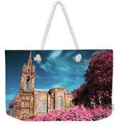 Gothic Style Chapel Weekender Tote Bag
