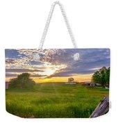 Gouveia Vineyard At Sunset  Weekender Tote Bag
