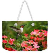 Graceful Garden Jewel Weekender Tote Bag