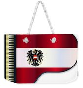 Grand Piano Austrian Flag Weekender Tote Bag