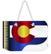 Grand Piano Colorado Flag Weekender Tote Bag