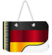 Grand Piano Germany Flag Weekender Tote Bag
