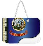 Grand Piano Idaho Flag Weekender Tote Bag
