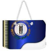 Grand Piano Kentucky Flag Weekender Tote Bag