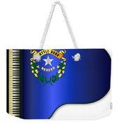 Grand Piano Nevada Flag Weekender Tote Bag