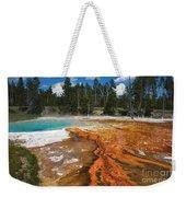 Grand Prismatic Spring Weekender Tote Bag by Mae Wertz
