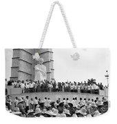 Jose Marti Memorial Weekender Tote Bag
