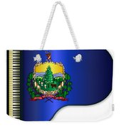 Grand Vermont Flag Weekender Tote Bag