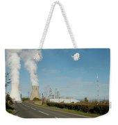 Grangemouth Petro-chemical Plant Weekender Tote Bag