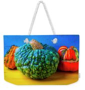 Graphic Autumn Pumpkins And Gourds Weekender Tote Bag