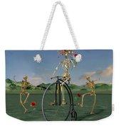 Grateful Dancing Cheer Skeletons Weekender Tote Bag