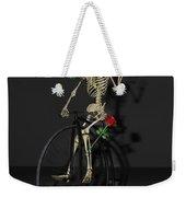 Grateful Penny Farthing Skeleton Weekender Tote Bag
