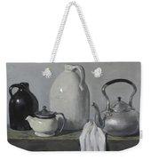 Gray Matters Weekender Tote Bag