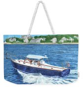 Great Ackpectations Nantucket Weekender Tote Bag by Dominic White