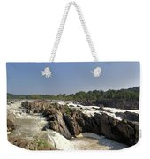 Great Falls On The Potomac Panorama  Weekender Tote Bag
