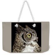 Great-horned Owl Weekender Tote Bag