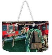Great Lakes Towing Tug Kansas Weekender Tote Bag