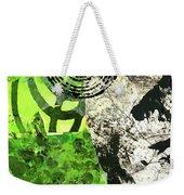 Green Balance No. 3 Weekender Tote Bag