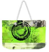Green Balance No. 4 Weekender Tote Bag