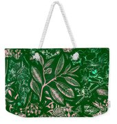 Green Composition Weekender Tote Bag